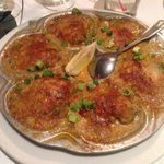 Ahhhhh----- fabulous baked oysters. Should have had it as my entree.