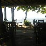 Vista do restaurante (café da manhã)