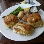 Crab Cakes at Micky Fin's