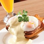 Our Famous Eggs Benedict