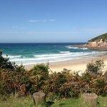 local beach, just a short drive (Not Aslings)