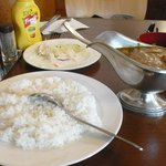 Chiken curry -rice
