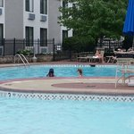 Pool which kids loved