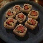 yummy sushi every night in the beach bar