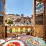 Great views of Plaza de Armas
