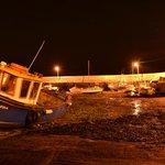 Barna Pier by night