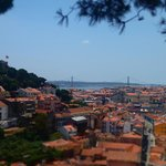 View of Lisbon from the final stop.