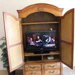 Móvel com tv - internet - dvd