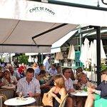 Cafe Paris next door - great people watching