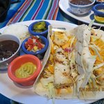 The famous Fish Tacos