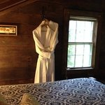 The Loft Suite. Cuddle robes ready.