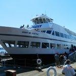 Our cruise tour ship