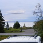 2010, view from our room across Hwy 61-looking at Lake Superior! What a view!!!