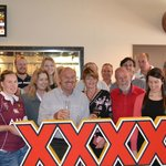 Wally Lewis guided a tour