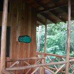 Porch at Yiguirro