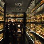 Just one-third of the Diageo Claive Vidiz Collection held at the Experience