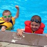 Loving the pool!