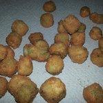 Fried Okra...yeah baby!