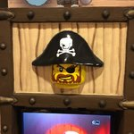 Kids TV in Pirate Themed Room