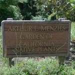 Signage to meadow garden