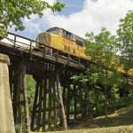 Rustic Train Tressle Overpass (Ya gotta like trains!)