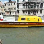 The Ambulance boat