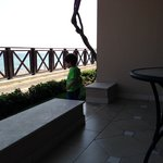 Вид из номера deluxe sea view
