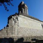 Le trophée d'Auguste, restauré aux XIXe et XXe siècles.