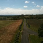 View of the Sunken Road (Bloody Lane) from observation tower
