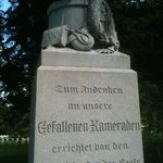 Monument within Antietam National Cemetery