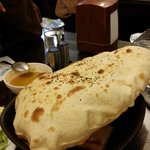 One of the Naan we ate