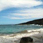 The Green Sand Beach