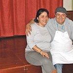 Señor Androver chef responsable e hija