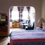 History Room, had Queen Bed with a Twin bed, sitting area and private bath