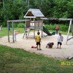 Kids will love this playground.