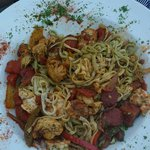 Shrimp Jambalaya pasta