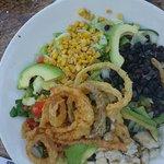 BBQ ranch chicken salad