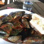 The Greenlip Mussels with Italian tomatoes sauce