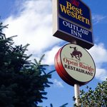 Open Range Restaurant located at the Best Western Outlaw Inn