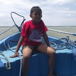 Bayu on the Boat