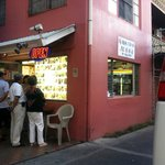Korean BBQ across the street   YUM