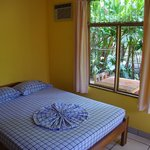Double room with view to the garden