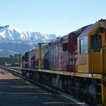 Tranz Alpine train