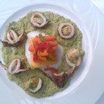 Presentation style '' gastronomique''