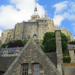 Sunny day at Mont St. Michel