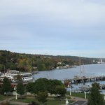 View from Our Room - Watkins Glen Harbor Hotel, NY