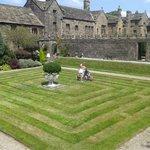 The grass maze. Despite the lack if high walls , my children lived it
