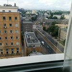 Warsaw from the room
