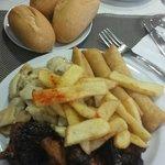 Comidas del buffet