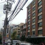 hotel vu de la rue